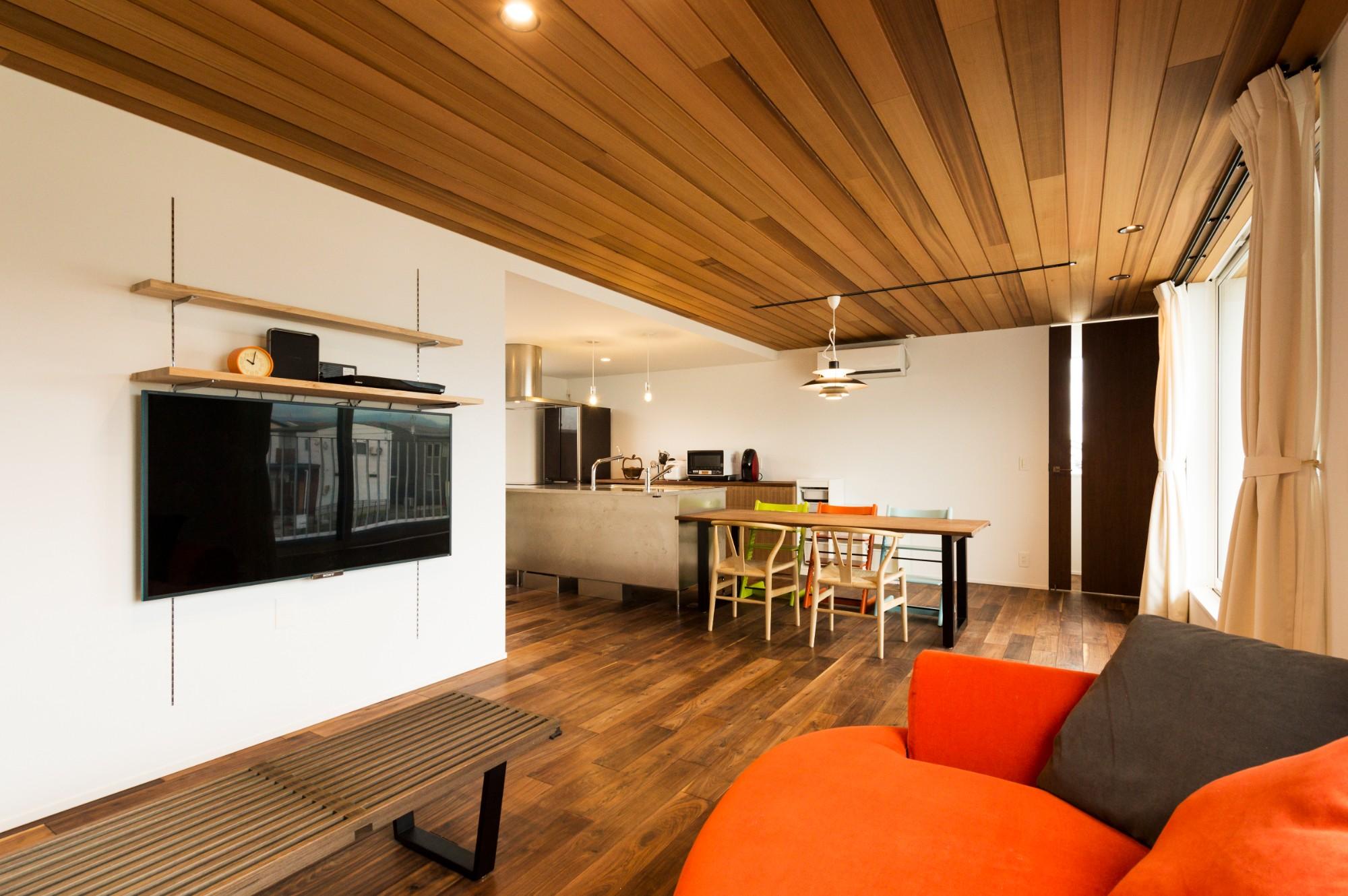 フクダハウジング株式会社「住む人の個性や楽しみを追求した家」の実例写真