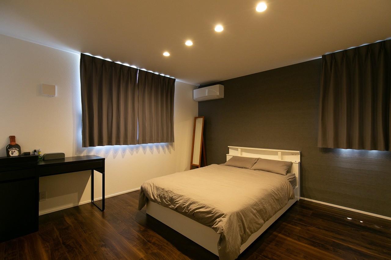 フクダハウジング株式会社「インテリアにこだわったホテルライクな住まい」のモダンな居室の実例写真