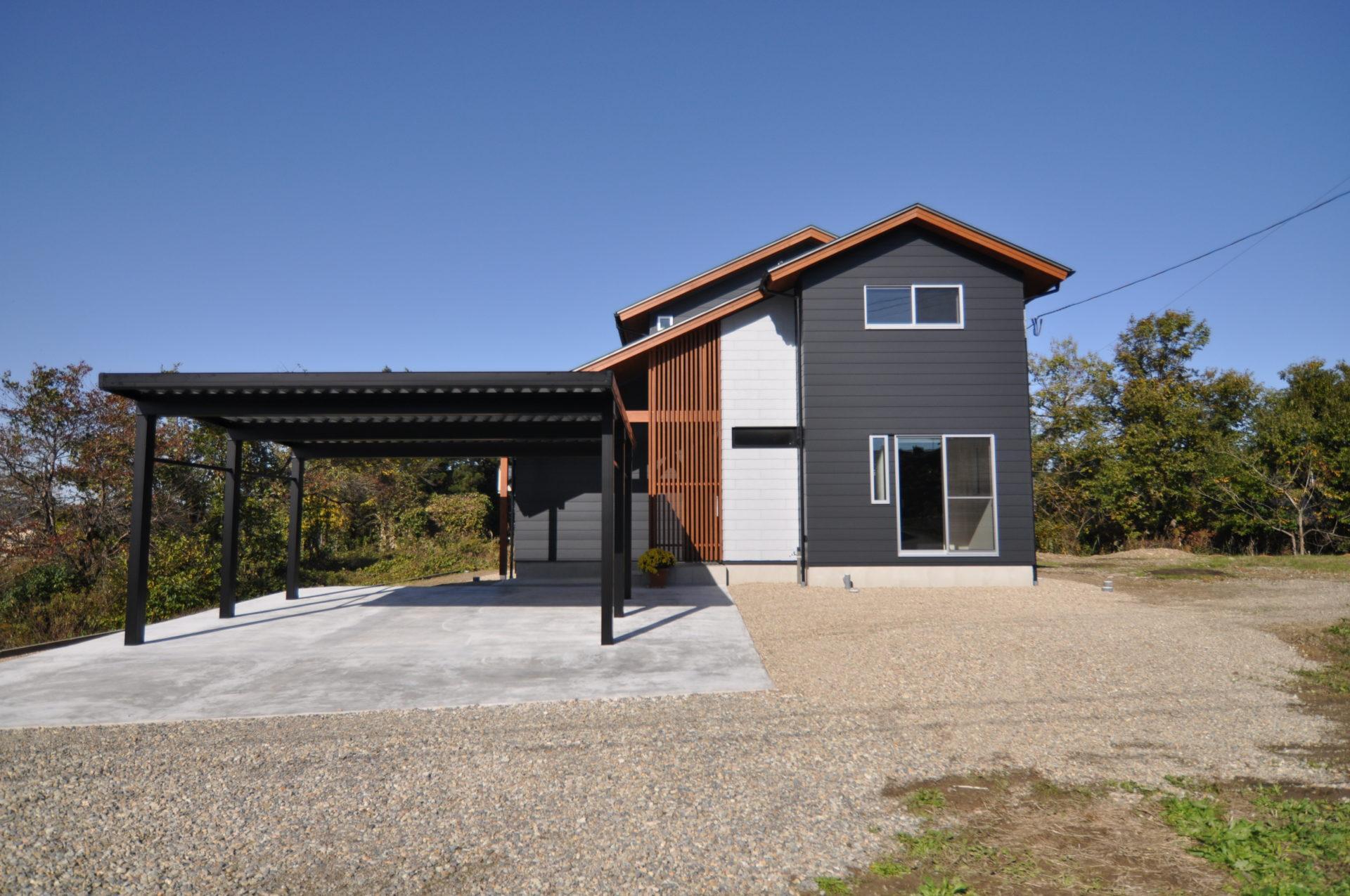 有限会社 市川建築店 1級建築士事務所「三条市 O様邸」の和風・和モダンな外観の実例写真