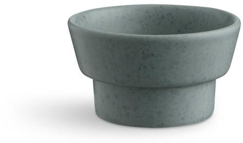 Zelený kameninový svietnik Kähler Design Ombria, ⌀ 9 cm