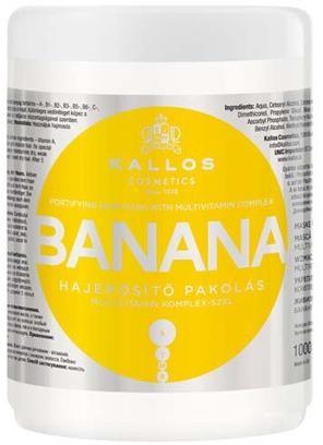 Kallos Posilňujúci maska s extraktmi z banánu (Banana Fortifying Hair Mask) 1000 ml