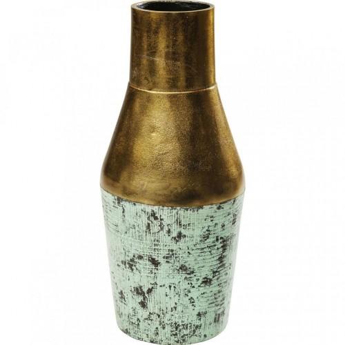 Hliníková dekoratívne váza Kare Design Turis Cone, výška 36 cm
