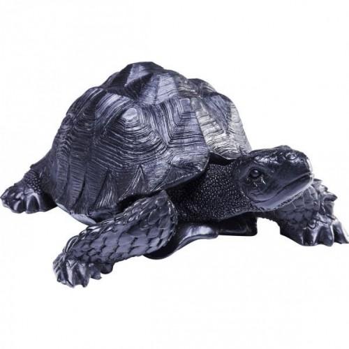 KARE DESIGN Dekoratívna figúrka Turtle - malá, čierna