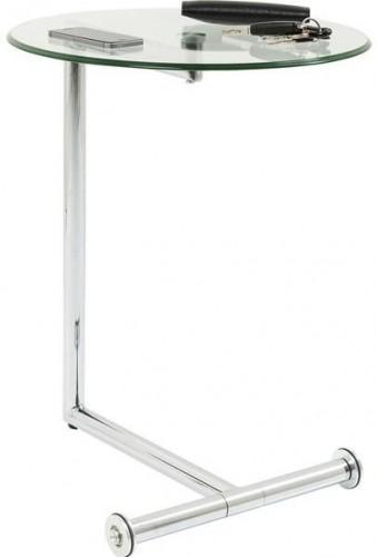 KARE DESIGN Odkladací stolík Easy Living Clear Ø46 cm