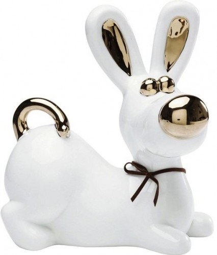 KARE DESIGN Sada 2 ks − Dekoratívna figúrka Nice Dog - veľká