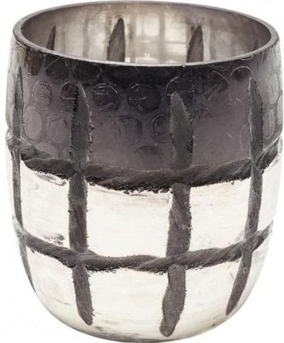 KARE DESIGN Sada 2 ks − Svietnik na čajovú sviečku Mesh Ombre