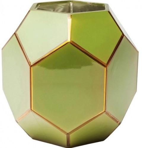 KARE DESIGN Sada 2 ks − Váza Art Pastel 18 cm - zelená