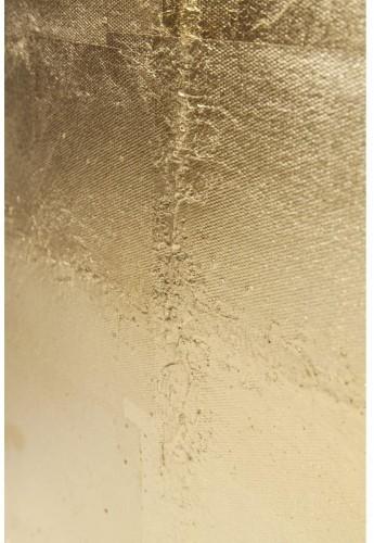 Nástenný obraz Kare Design Foil Gold, 120 x 60 cm