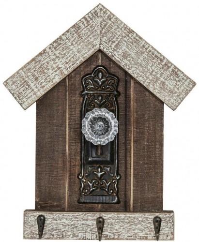 Nástenný vešiak z jedľového dreva Kare DesignLodge
