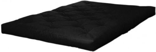 Matrac v čiernej farbe Karup Design Double Latex Black, 140×200 cm