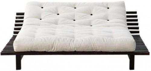 Rozkladacia posteľ z borovicového dreva Karup Design Blues, 180×200 cm