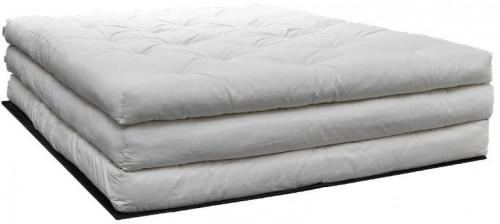 Trojitý matrac Karup Design Stack White, 180×200 cm