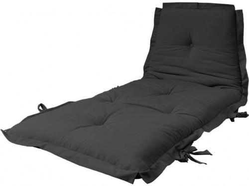 Variabilný futón Karup Design Sit&Sleep Dark Grey