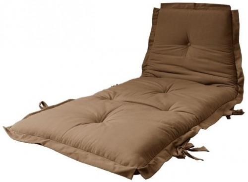 Variabilný kávovohnedý futón Karup Design Sit & Sleep Mocca