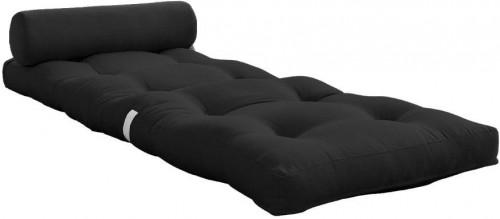 Variabilný tmavosivý skladací matrac Karup Design Wrap Dark Grey