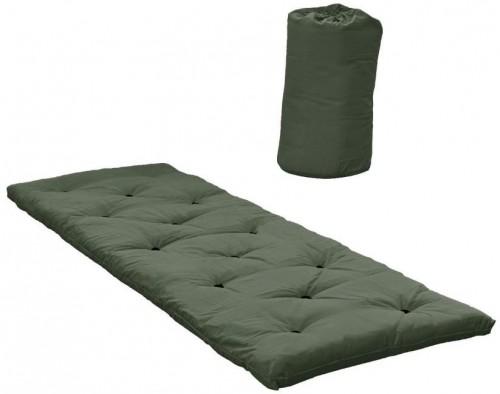 Zelený matrac pre hostí Karup Design Bed In A Bag Olive Green