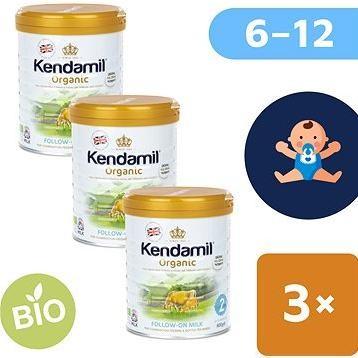 Kendamil 100% BIO plnotučné kojenecké mléko 2 (3× 800 g)