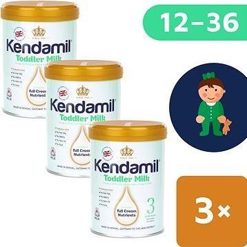 Kendamil batolecí mléko 3 (3× 900 g)