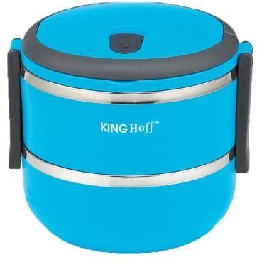 Dóza na potraviny KINGHOFF 2165, modrá