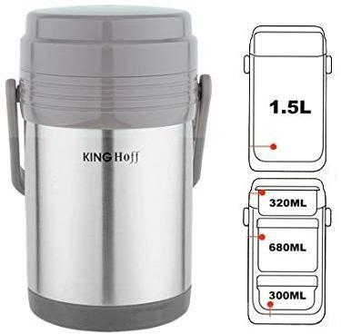Termoska 1,5 L KINGHOFF 4075