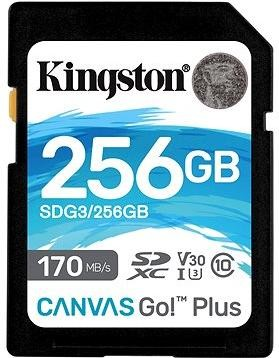 Kingston Canvas Go! Plus SDXC 256GB + SD adaptér