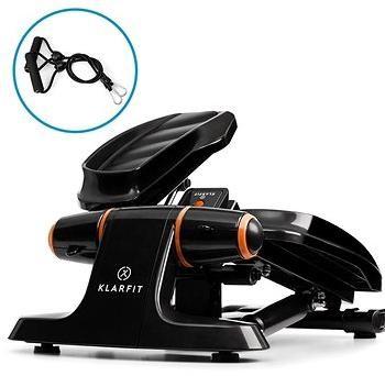 Klarfit Galaxy Step černý/oranžový