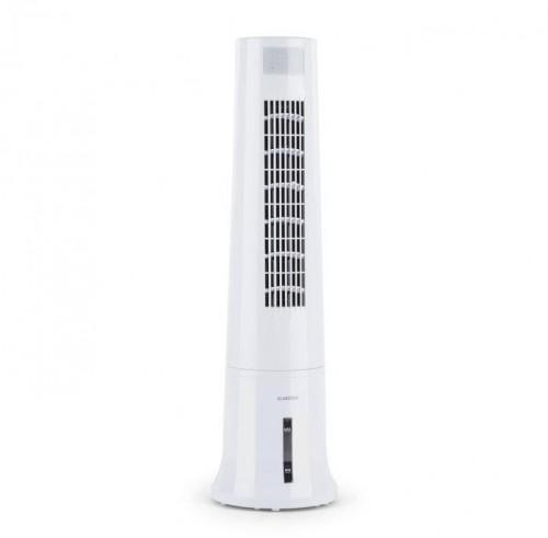 Klarstein Highrise, ochladzovač vzduchu, ventilátor, zvlhčovač vzduchu, 40 W, 2.5 l, chladiaca náplň, biely