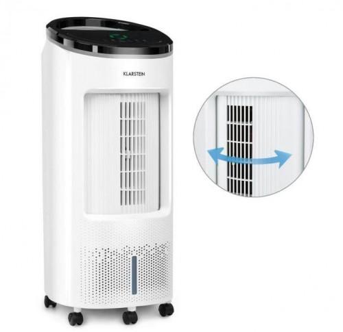Klarstein IceWind Plus, ochladzovač vzduchu, 65 W, časovač, 330 m³/h, diaľkový ovládač, biely