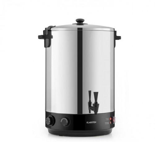 Klarstein KonfiStar 40, zavarovací automat, 40 l, zásobník na nápoje, 110 °C, 120 min, ušľachtilá oceľ