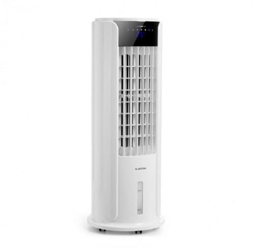 Klarstein Skyscraper Horizon, ochladzovač vzduchu, ventilátor, 60 W, 486 m³/h, 3.5 l vodná nádrž, biely