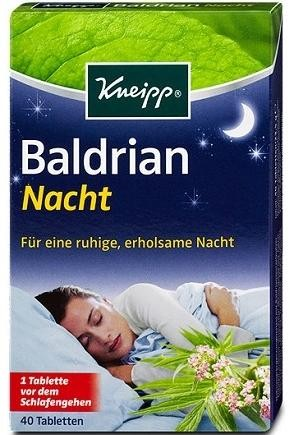 Kneipp Valeriána na dobrý spánok 1 x 40 tbl.