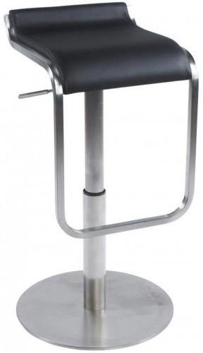 Moderná barová stolička Carter čierna