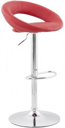 Moderná barová stolička Dylan červená