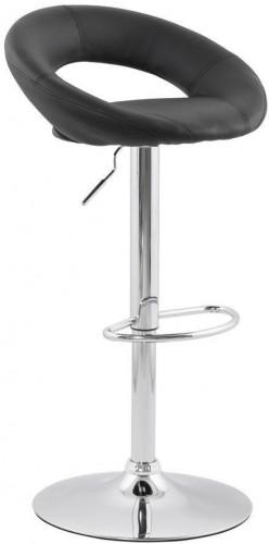 Moderná barová stolička Dylan čierna