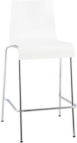 Moderná barová stolička Henry biela