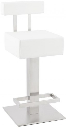 Moderná barová stolička Ryan biela II. trieda
