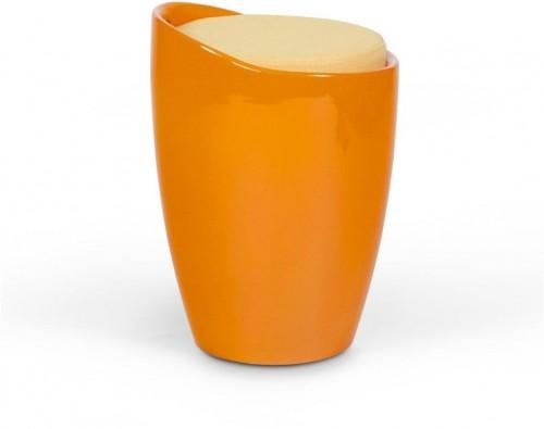 Oranžová stolička s úložným prostorem Kokoon Ese