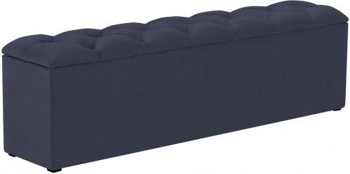 KOOKO HOME Lavica k posteli s úložným priestorom Fa – 140 × 34 × 47 cm