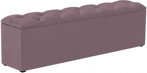 KOOKO HOME Lavica k posteli s úložným priestorom Fa – 160 × 34 × 47 cm
