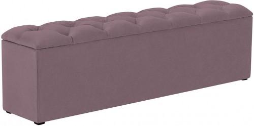 KOOKO HOME Lavica k posteli s úložným priestorom Fa – 180 × 34 × 47 cm