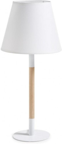 Biela stolová lampa La Forma Moskov