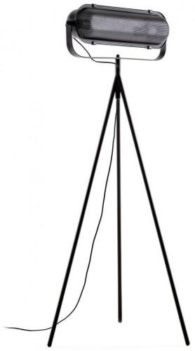 Čierna stojacia lampa La Forma Arete, výška 54 cm