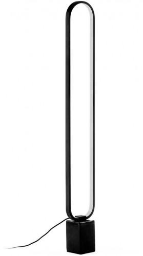 Čierna stojacia lampa La Forma Cinta, výška 10 cm