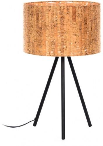 Hnedá stolová lampa La Forma, výška 33 cm