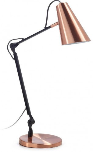 Stolová lampa vo farbe medi La Forma Paola