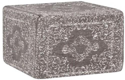 Béžový bavlnený puf LABEL51 Vintage