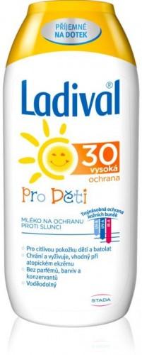Ladival Kids detské mlieko na opaľovanie SPF 30 200 ml
