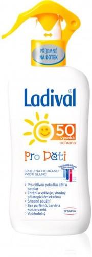 Ladival Kids detský sprej na opaľovanie SPF 50 200 ml