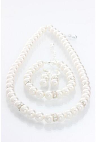 Set šperkov s krištáľmi Swarovski Elements Laura Bruni Lana