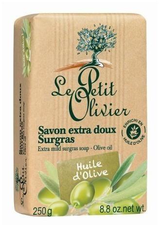 Le Petit Olivier Extra jemné prírodné mydlo Olivový olej (Extra Mild Surgras Soap) 250 g